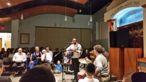 Concerts, speakers and joy in Jewish growth