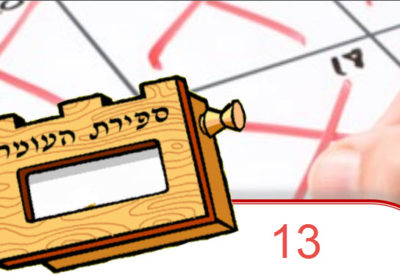 Omer count Jewish growth thornhill