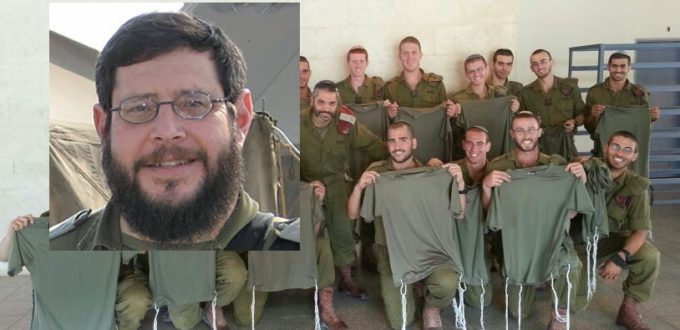 Soldiers-with-Tzitzit Thornhill Yedida