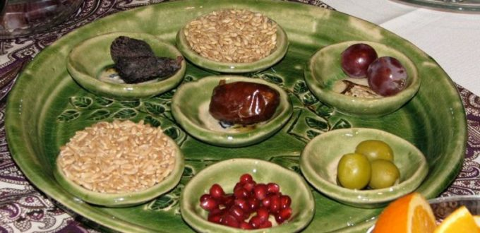 Tu B'Shevat Seder Jewish Thornhill Orthodox