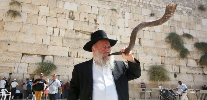 kosel shofar laws of blowing horn